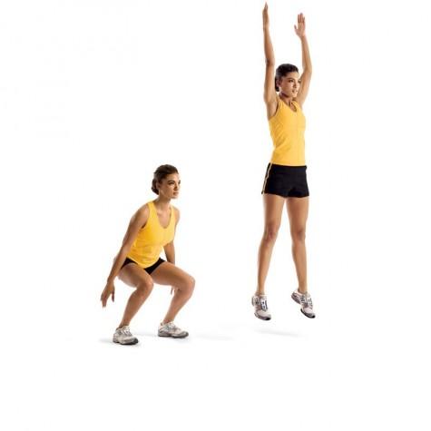 bài tập tăng chiều cao nhảy tại chỗ
