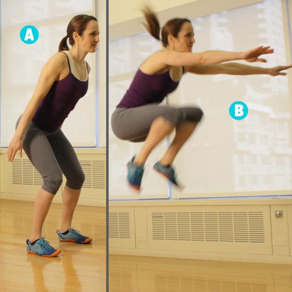 Phương pháp tăng chiều cao bằng bài tập nhảy cao