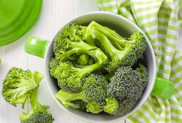 Các dưỡng chất trong bông cải xanh có khả năng kích thích quá trình sản sinh nội tiết tố tăng trưởng diễn ra hiệu quả