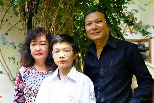 Gia đình nhạc sĩ Minh Châu (ảnh nhân vật cung cấp)
